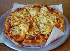 Spaghetti Pizza