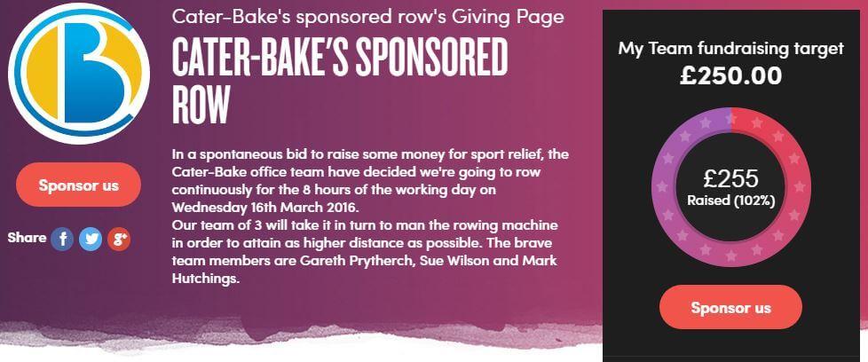 Cater Bake Sponsor Form
